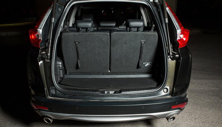 Khoang hành lý xe Honda CR-V