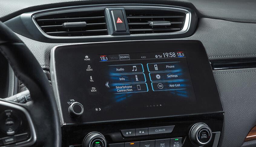 Tiện nghi xe Honda CR-V