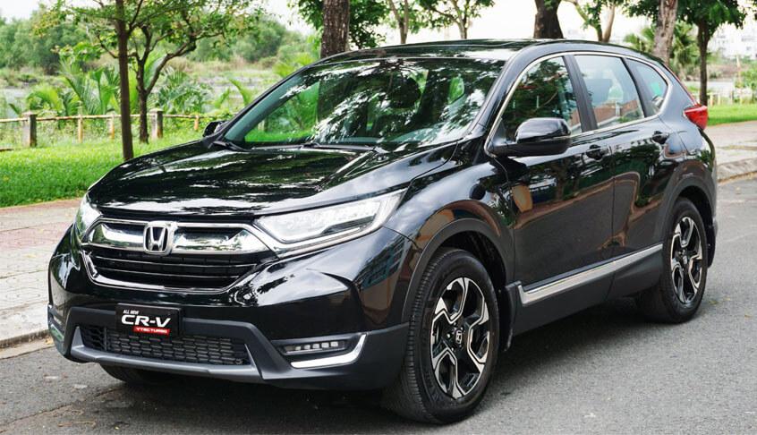 Đầu xe Honda CR-V