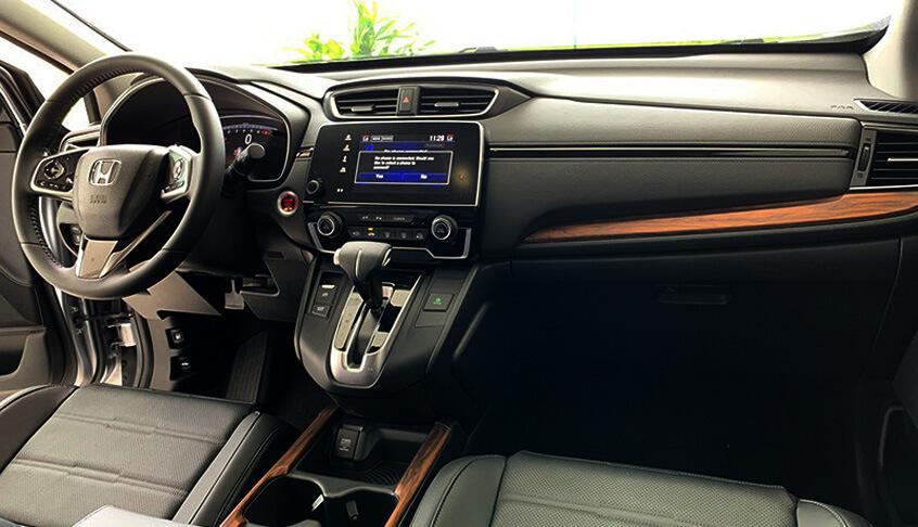 Nội thất xe Honda CR-V